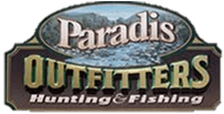 Logo for Paradis Outfitters.